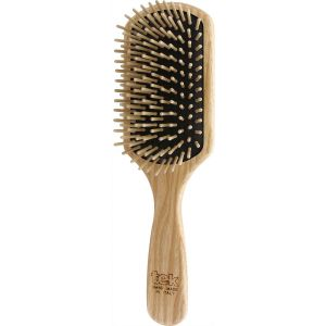 Paddle brush with short pins