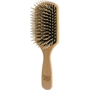 Paddle brush with long pins